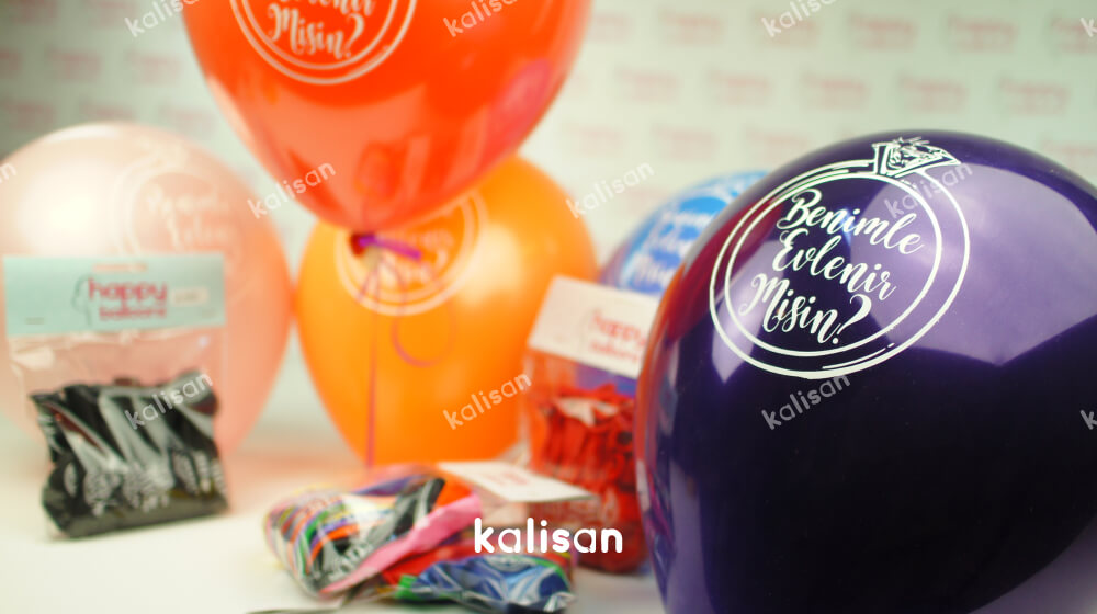 evlilik teklifi balon