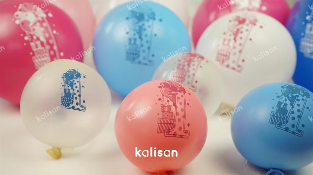1 yaş doğum günü balonları