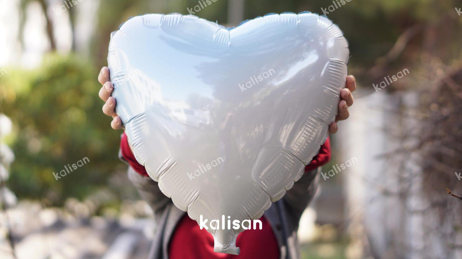 46980005 Kalp Mavi – Beyaz Geçişli